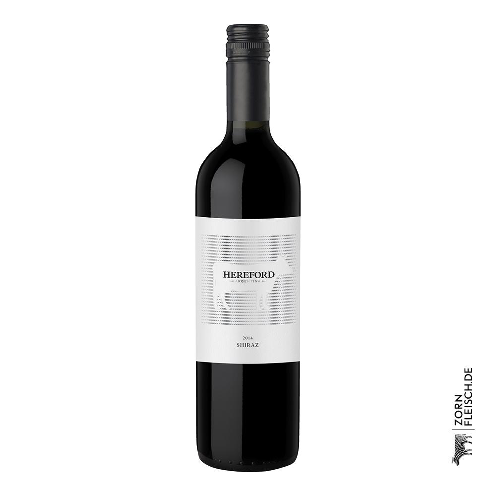 Hereford Rotwein 0,75 Liter