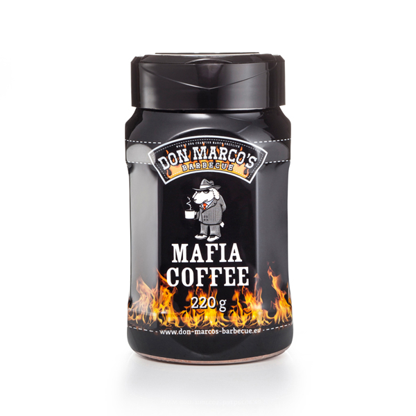 Don Marco BBQ Gewürz Mafia Coffee