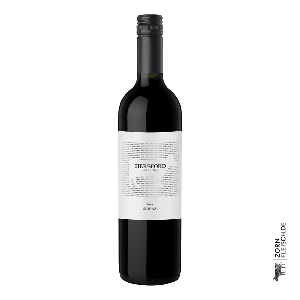 Hereford Rotwein 0,75 Liter