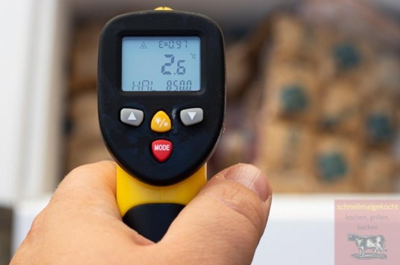 Messung der Kühlkette beim Fleisch-Onlineversand